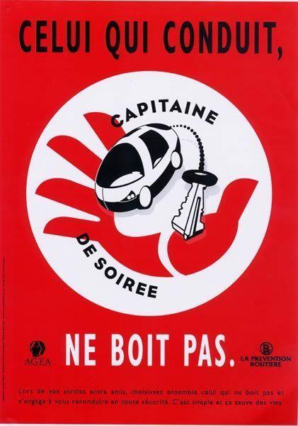 CAPITAINE DE SOIREE... Pensez-y !