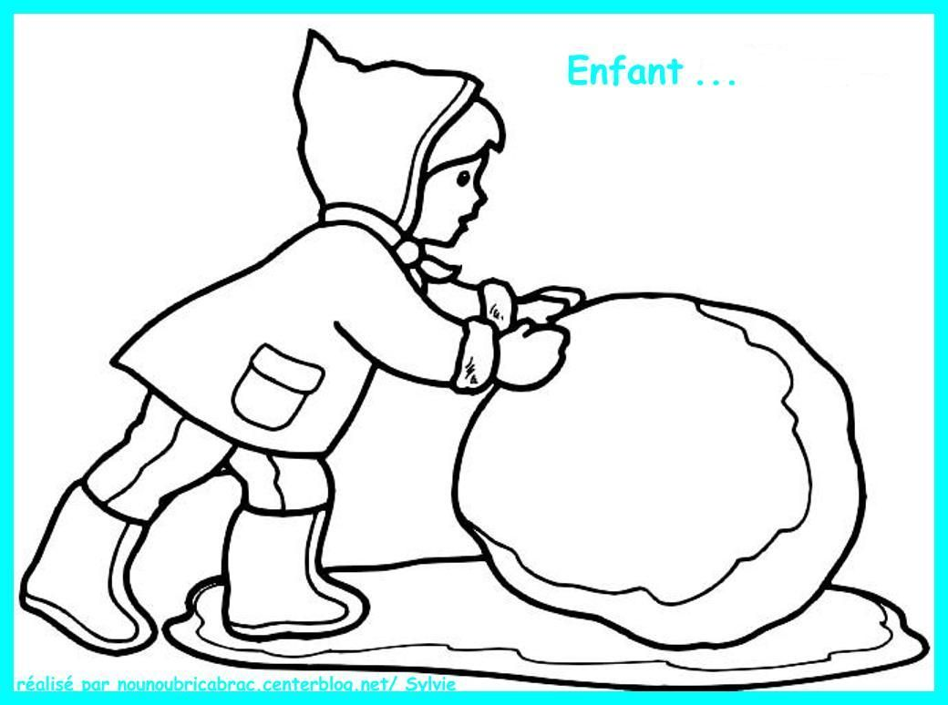 Enfant...  colorier