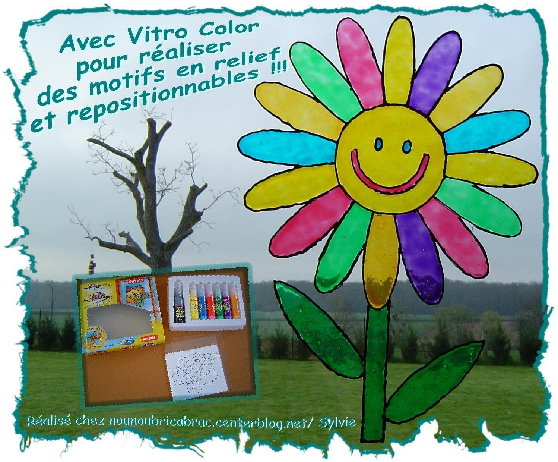 Avec Vitro Color... réalisez de superbes motifs !!!