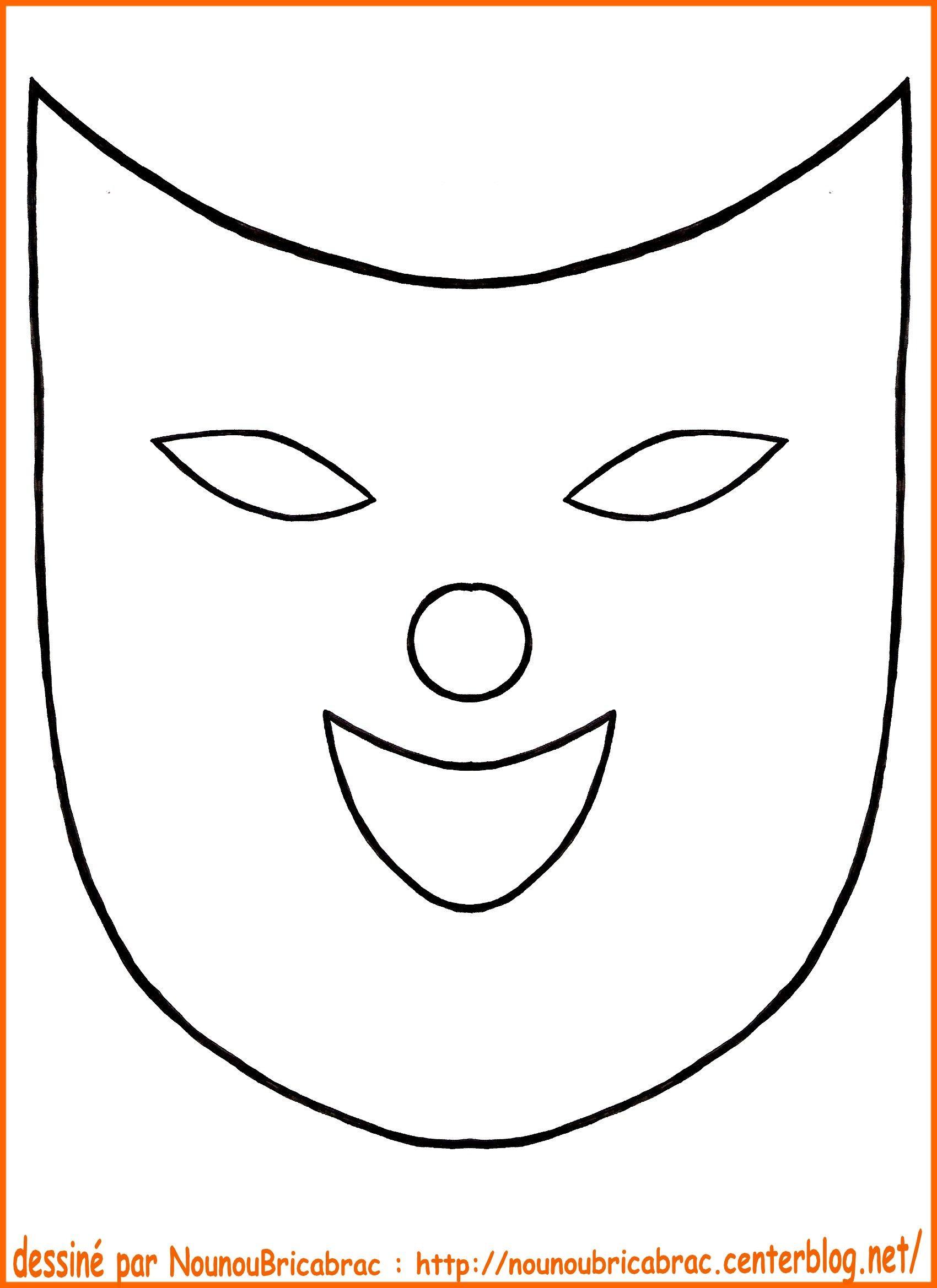 Coloriage masque de loup page 2 memes - Masque de carnaval a imprimer ...