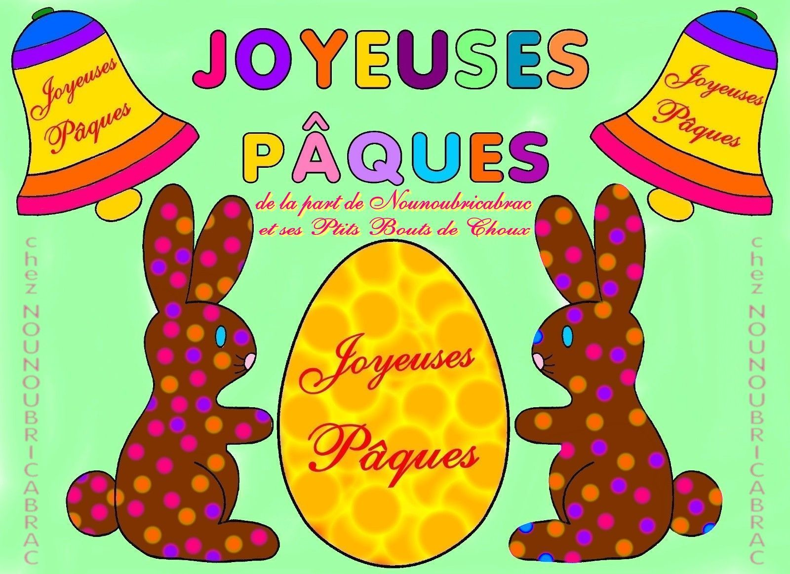 Histoire du lapin de Pâques...