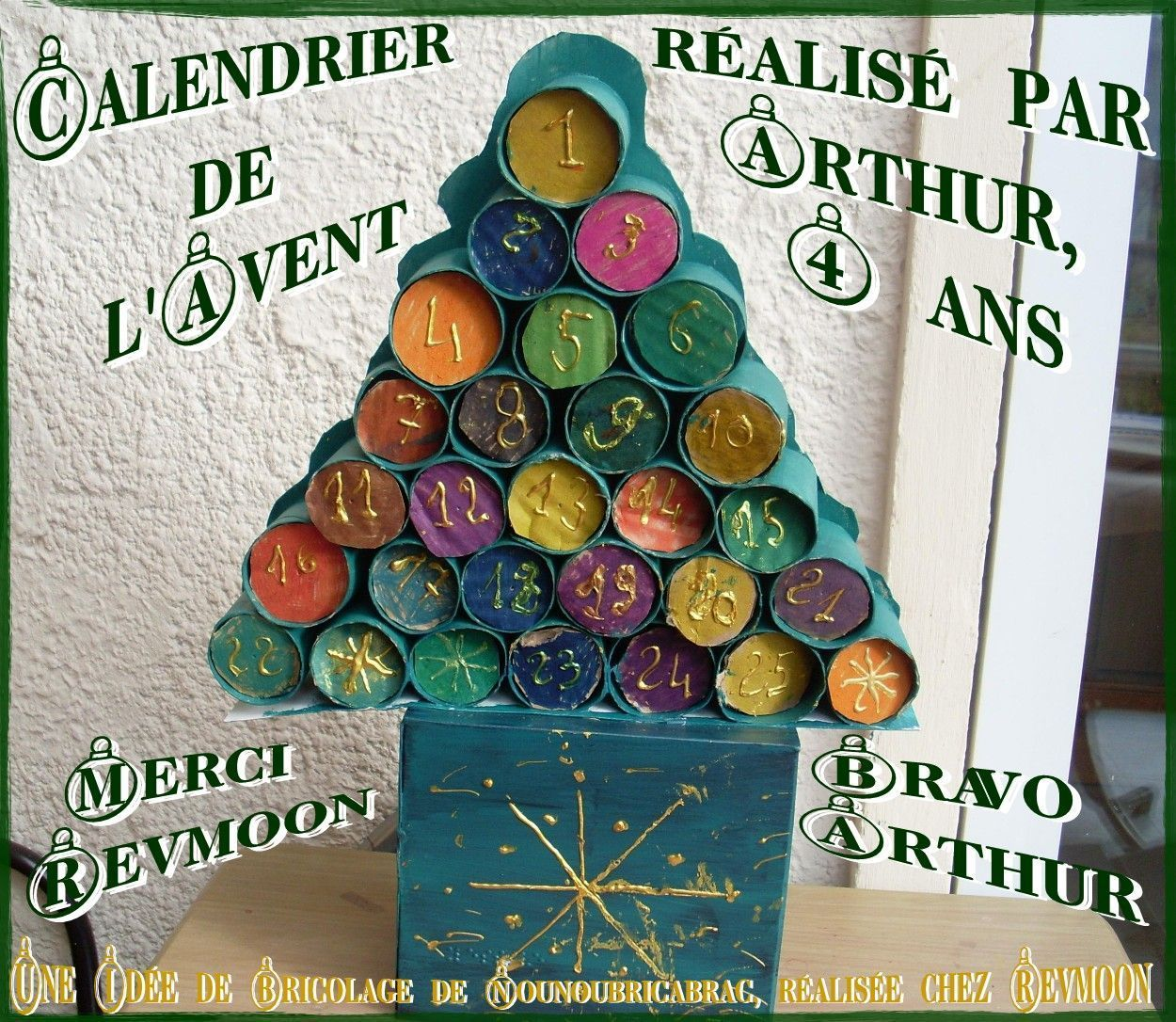 Bricolages vos idees merci pour votre partage page 4 - Calendrier de l avent en bois pas cher ...